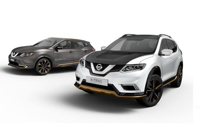 Nissan將為Qashqai以及 X-Trail兩款SUV 推出客製化升級外觀套件