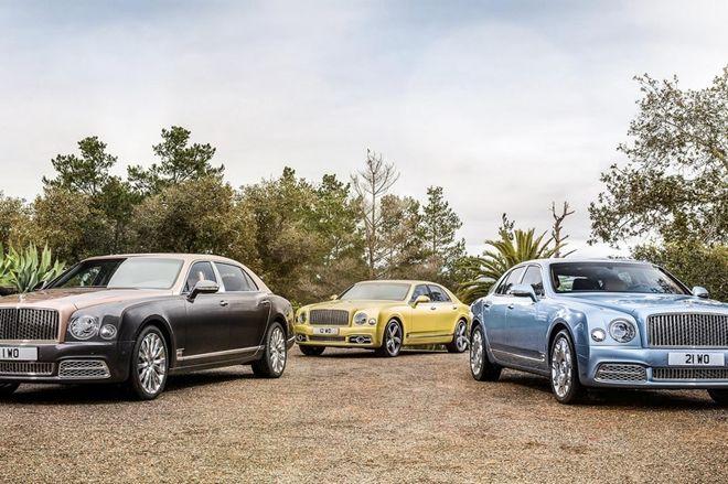 奢華古典的氣息, Bentley推出小改款Mulsanne,同時增加長軸板車型