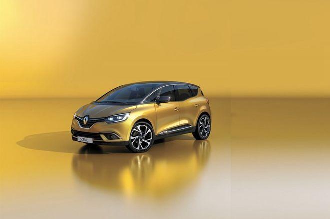 Renault公布全新世代2016「Scenic」