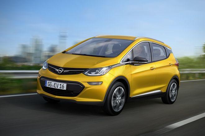 進軍歐洲小型電動車市場,Opel將在日內瓦車展推出Ampera-e