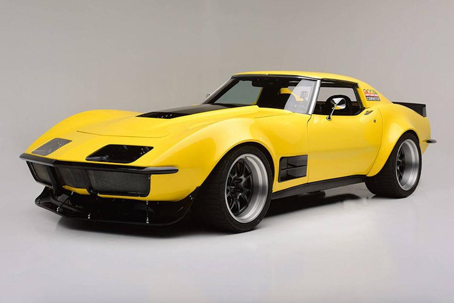 僅48小時打造!1972翻新版Chevrolet Corvette將現身汽車拍賣會!