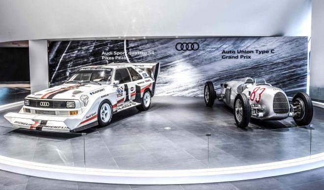 Audi Sport Quattro S1、Auto Union Type C連袂展出 經典賽車披掛上陣