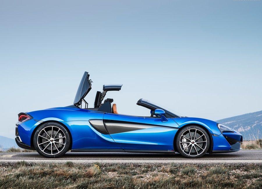 McLaren 570S Spider登場 售價1188萬起跳!
