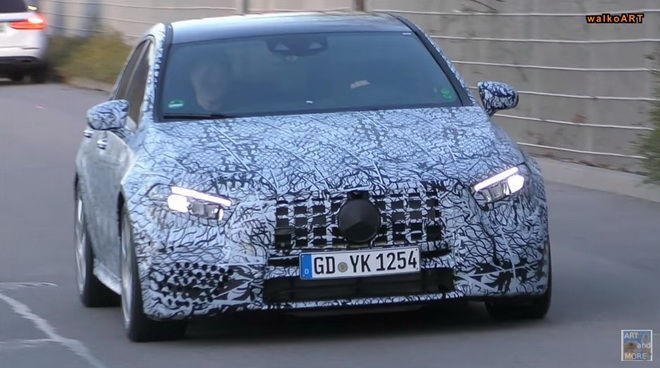 M-Benz新世代小辣椒 2018 Mercedes-AMG A45路試再曝光!!!