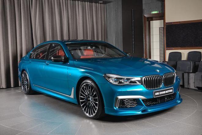 Abu Dhabi Motors真的很誇張,竟把M760Li xDrive披上「Long Beach Blue」配色!