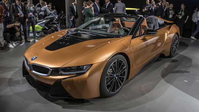 2017洛杉磯車展:八年磨一劍BMW i8 Roadster終於登場!