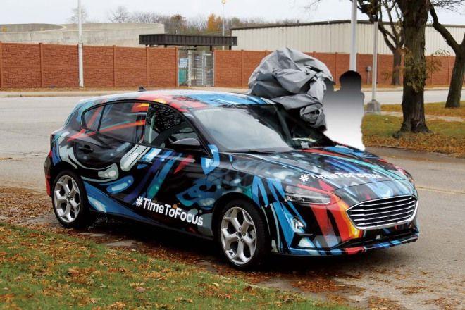 Ford Focus造型像是放大的Fiesta