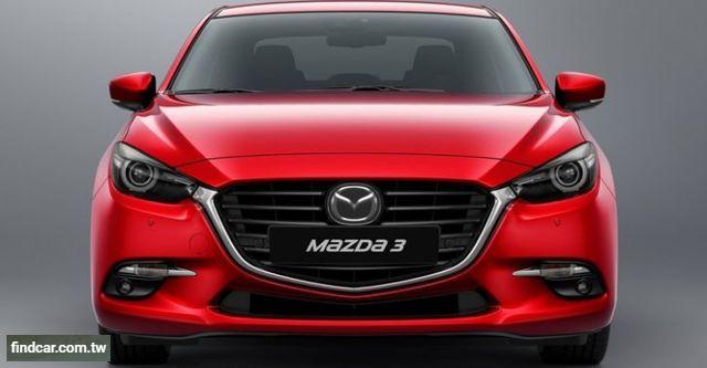 2017年12月 Mazda 馬自達全車系中古車行情表