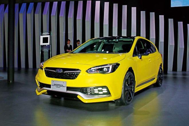 Subaru  Impreza Future Sport Concept硬皮鯊再現