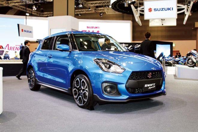 Suzuki  New Swift Sport年底台北車展亮相