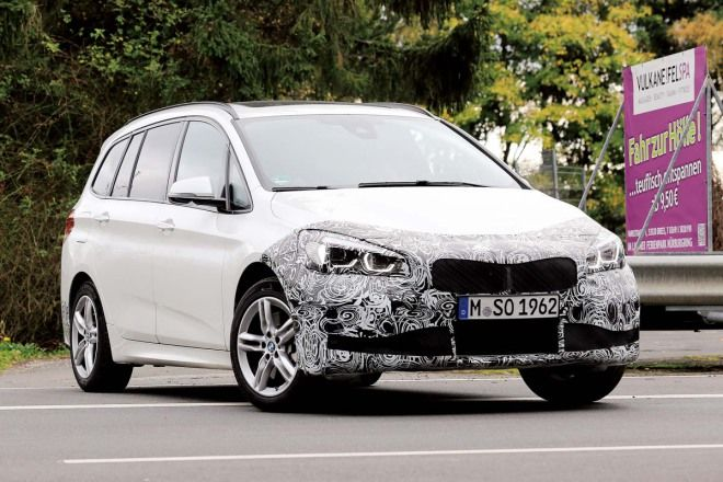 BMW 2 Series Gran Tourer小改款  面對B-Class沒在怕