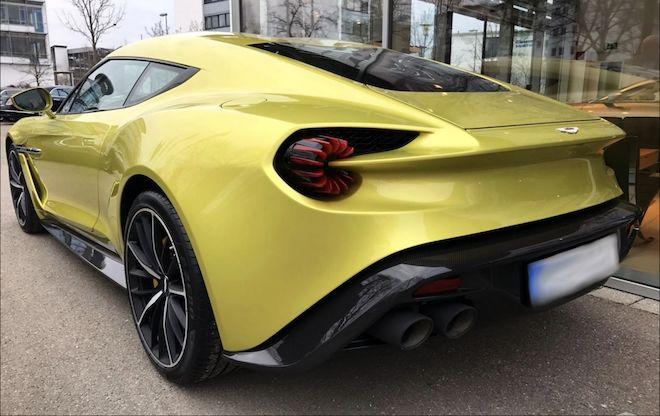 見過這輛僅生產99輛的「Aston Martin Vanquish Zagato」嗎?
