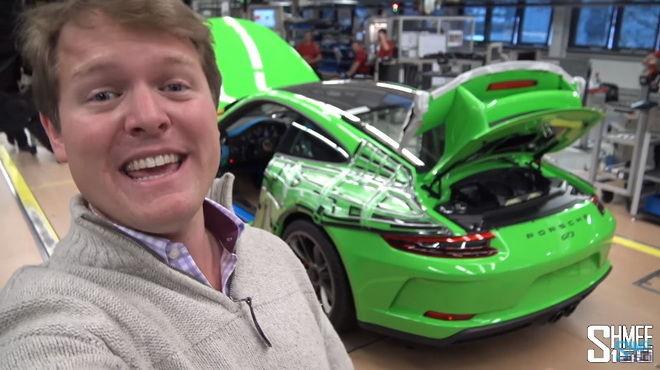 不出國也能參觀911生產線 大家一起跟著Shmee150到Zuffenhausen看他的2018黃綠色Porsche 911 GT3生產過程