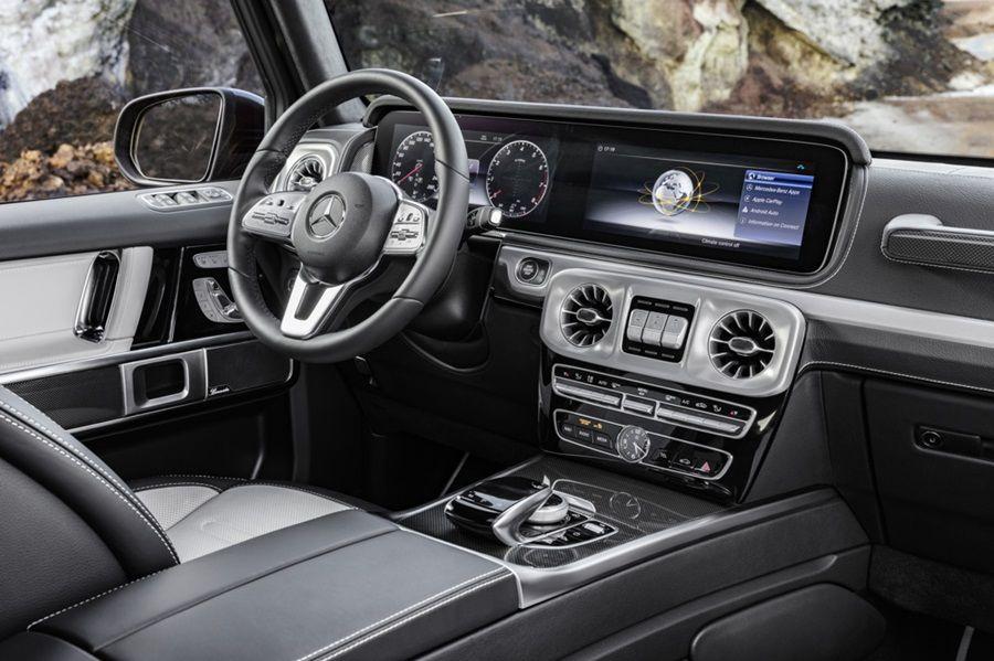 全新大改款Mercedes-Benz G-Class內裝照曝光!