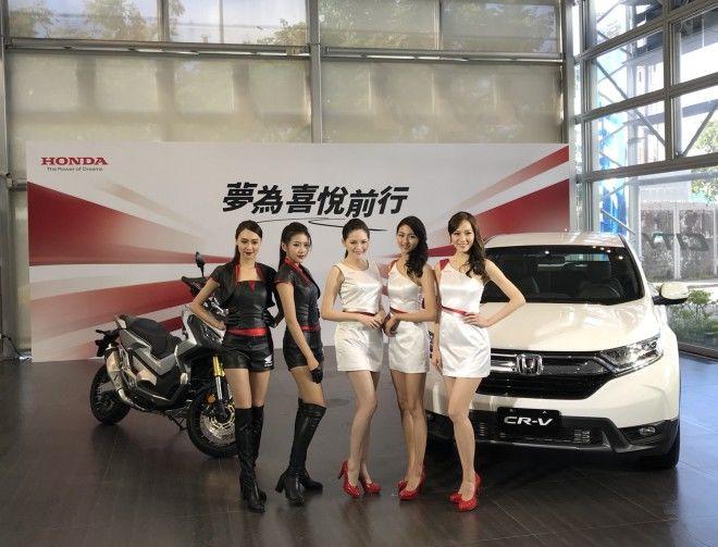 (內附影片)Honda 2018台北車展show girl搶先露出