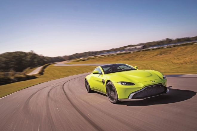 All New Aston Martin Vantage  跨海峽的混血