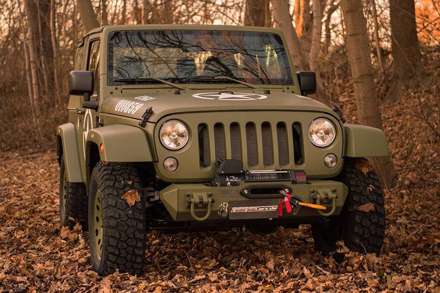野戰風!Geiger Cars推出訂製Jeep Wrangler Willys向二戰經典致敬!