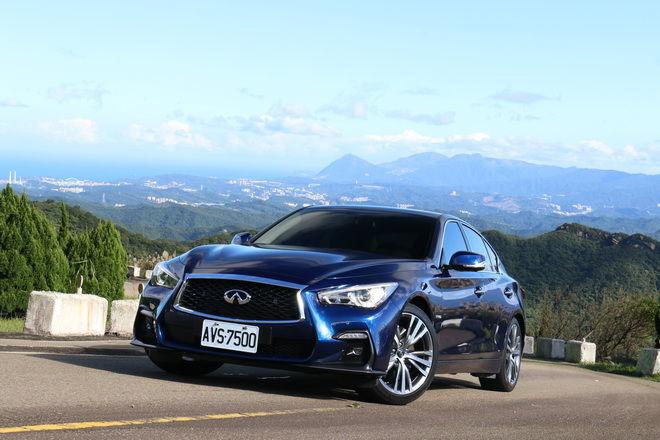 高科技綠色性能豪華房車 Infiniti小改款Q50S Hybrid Blue Sport試駕