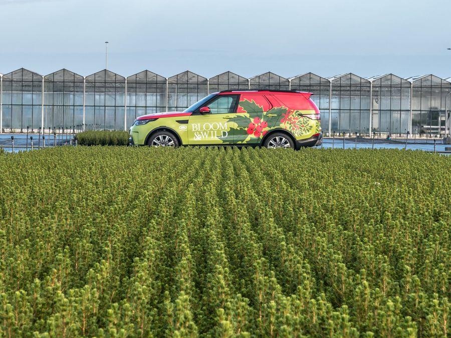 今年Land Rover的聖誕梗 New Discovery客貨車登場