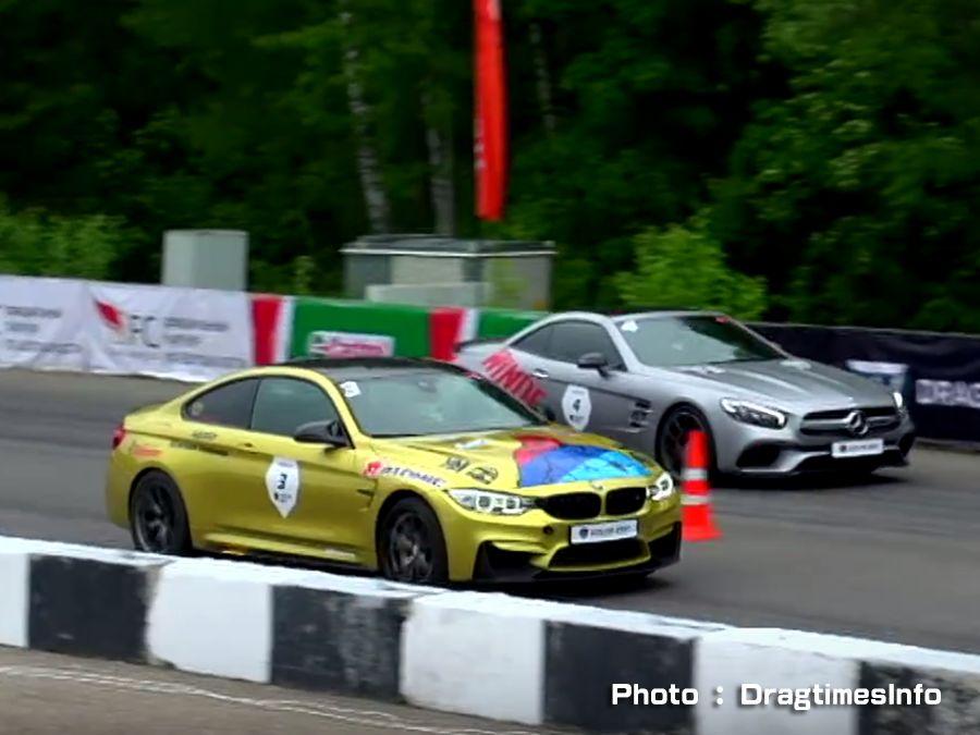 BMW M4挑戰Mercedes SL63 AMG 都是750匹改裝怪獸