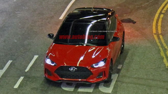 Hyundai全新世代 Veloster Turbo無偽裝曝光 帥氣更勝以往