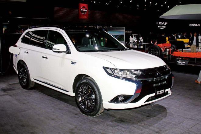 Mitsubishi Outlander PHEV家族化樣貌進駐