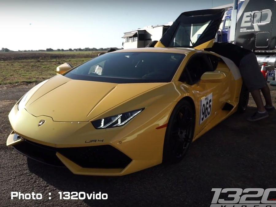 飆到320km/h失控!直線加速賽是有多危險?
