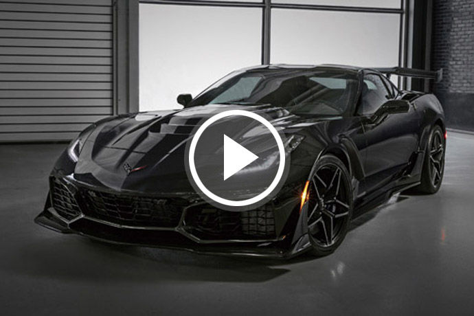 稀有超跑 - Chevrolet Corvette ZR1    美系王者再臨