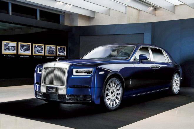 車王氣勢理當如此Rolls-Royce Phantom VIII