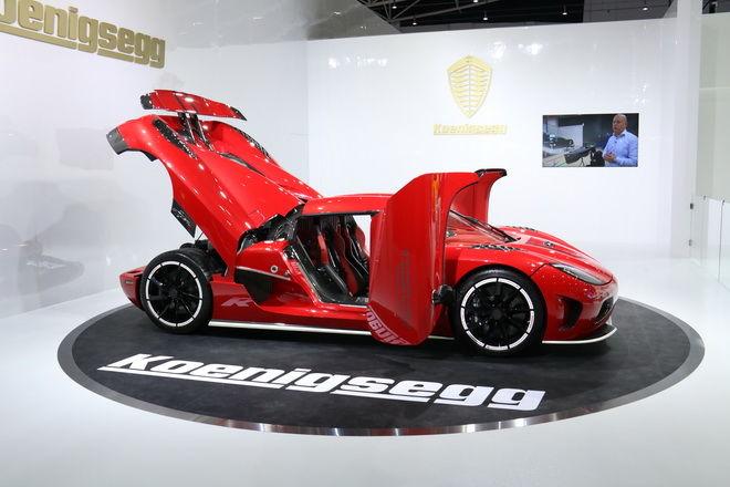 臻於極致 再創非凡 Koenigsegg 首度亮相2018世界新車大展