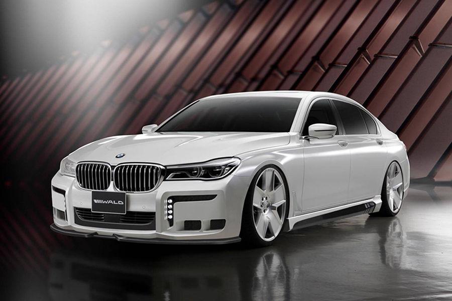 看膩BMW 7-Series原本的樣貌?那看到Wald International的Black Bison套件肯會眼目一新
