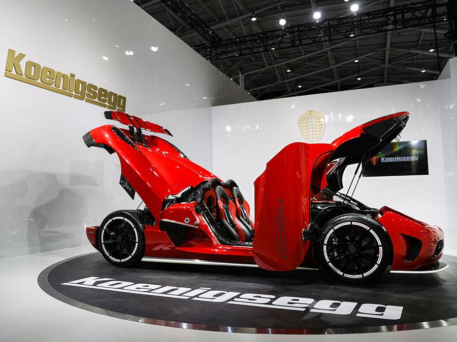 《2018台北車展》Koenigsegg 首度亮相