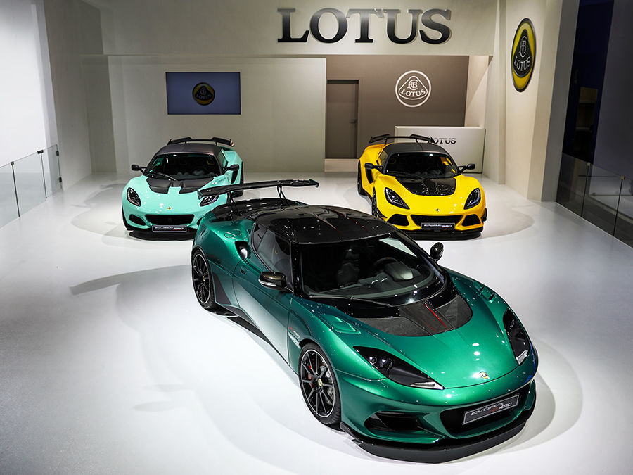 《2018台北車展》Lotus Elise 、Exige以及Evora代表車款展出