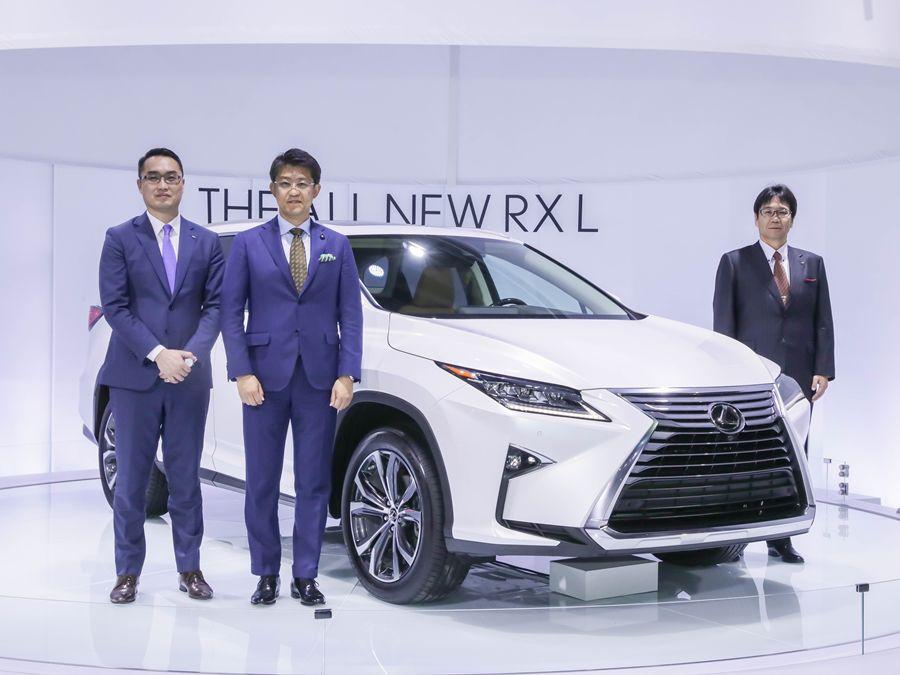 《2018台北車展》Lexus RX L發表大七人座LSUV