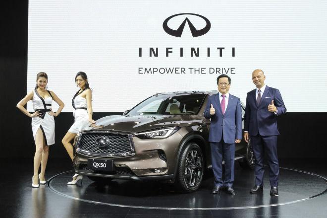 2018 世界新車大展 觀看重點  INFINITI QX50 QX30