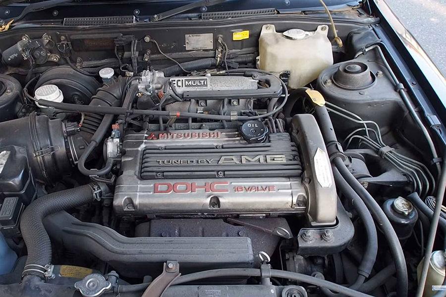 Mitsubishi與AMG在1990年代的私生子?極為稀有的Galant!