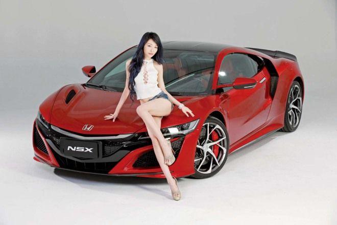 Honda NSX X Up人氣主播 沐雨柔