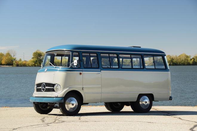 麵包車(Microbus)不只是福斯的專利,過去Mercedes-Benz也曾在1955年打造過一輛O 319!