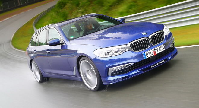 極速高逹322km/h Alpina B5 Bi-Turbo Touring被譽為世界上最快的Wagon