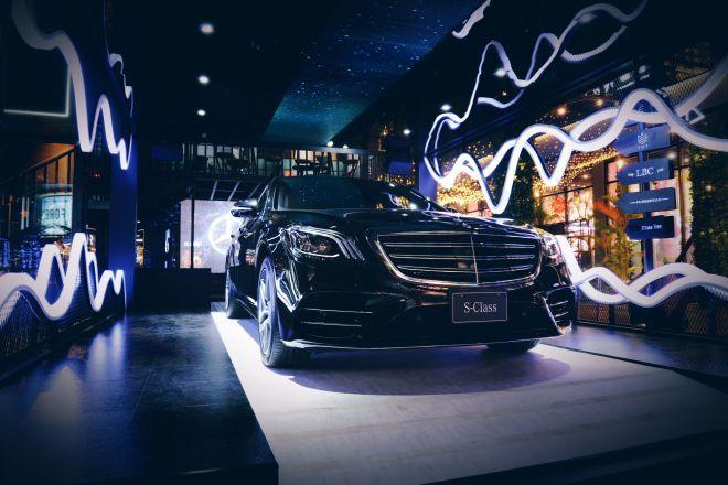 MercedesBenz打造極致五感饗宴 邀你體驗S-Class的豪華