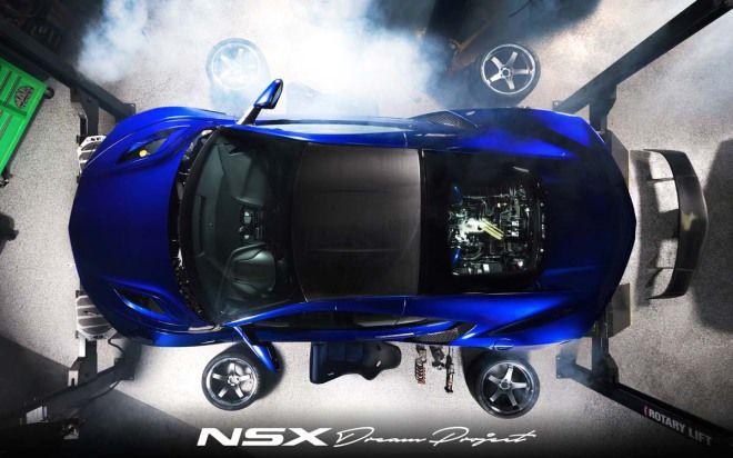NSX GT4?就快接近這等級了!