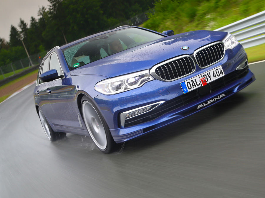 Alpina B5 Bi-Turbo Touring極速可達320km/h!
