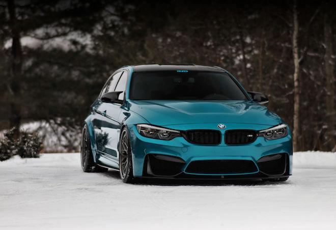 雖然BMW準備「汰舊換新」,但F80 M3若是「換裝」一下還是氣勢凌人!!