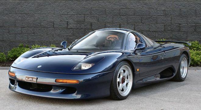 這輛由McLaren F1始作俑者所設計的Jaguar Supercar「XJR-15」!帶著濃厚的傳奇色彩再現2018!