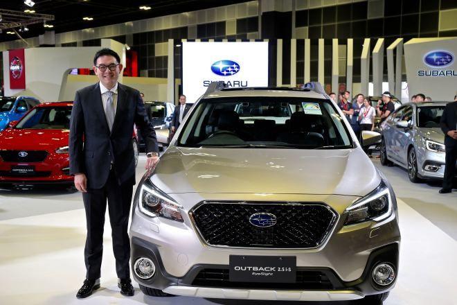 SUBARU全新OUTBACK & XV齊揚「2018新加坡新車大展」