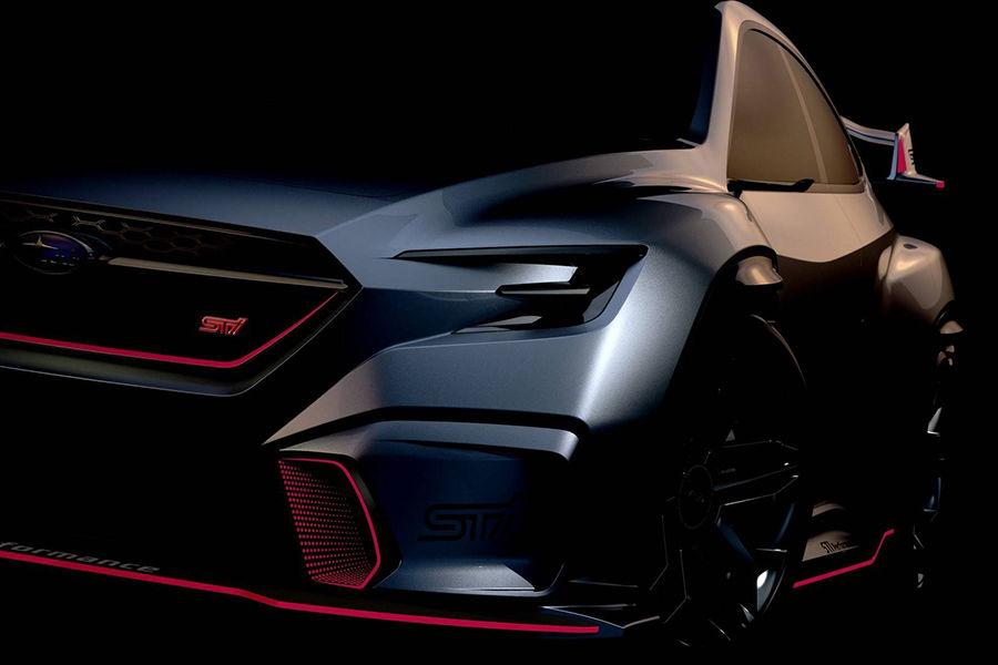 Subaru Viziv Performance STI概念車是否為WRX STI的預告之作呢?