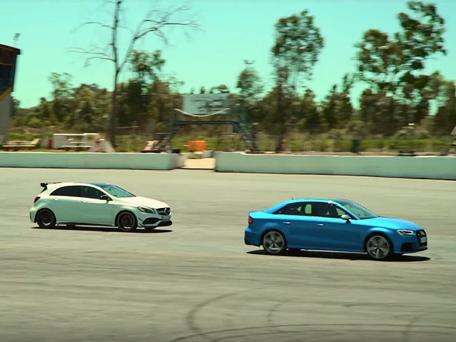 Mercedes-AMG A45 Vs. Audi RS3!買定離手!
