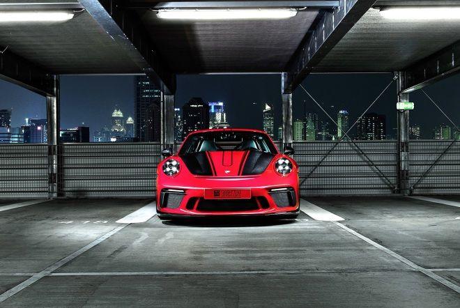 911 GT3 Carbon空套樣式!      現身2017年Essen Motor Show