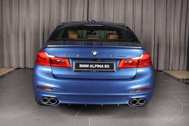 若要你尋找一輛完美取代BMW M5的頂級好物,我想應該只能是由Alpina親自操刀的「 B5 Bi-Turbo」吧?