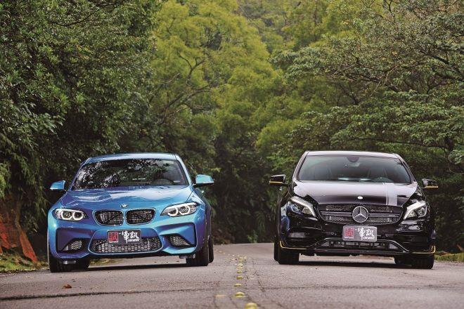 (上集)BMW M2 VS. Mercedes-AMG A45   既生瑜 又生亮